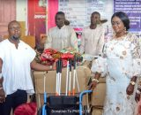 Hon. Barbara Oteng-Gyasi Donate Mobility Aids To Ghana Federation Of Disability Organisation
