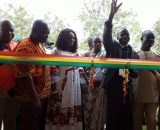 PHMA COMMISSIONS ONE NUMBER TWO-UNIT CLASSROOM BLOCK WITH ANCILLARY FACILITY AT WASSA DAMANG