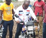 DISTRIBUTION OF 47 MOTORBIKES TO ASSEMBLY MEMBERS